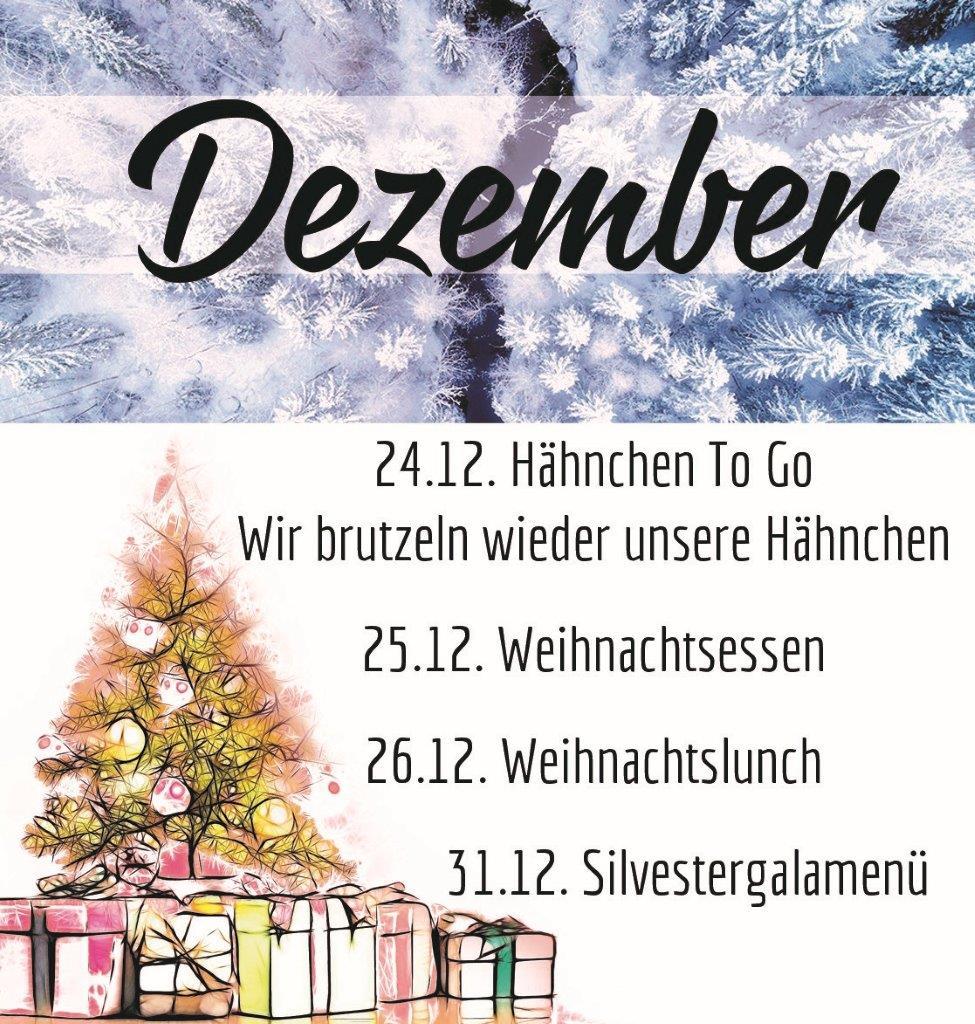 Weihnachtsessen 1 Weihnachtsfeiertag.Goll Gastronomie In Niefern öschelbronn Bei Pforzheim